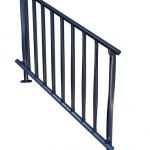 Configuración escalera con base horizontal.